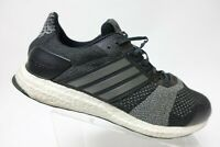 ADIDAS Ultra Boost ST Black Sz 13 Men Running Shoes