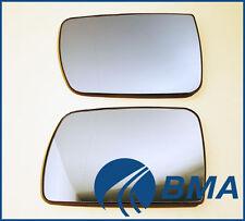 BMW E53 DOOR MIRROR GLASS SET LH+RH PAIR 51167039597 51167039598