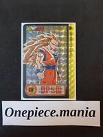Dragon ball Z HONDAN PART 20 CARDDASS CARD PRISM CARTE 154 HARD JAPAN Mint