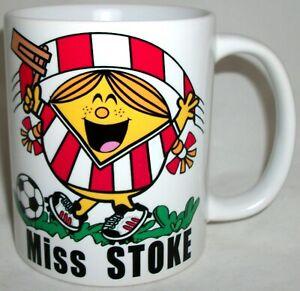 Funny Miss Stoke Coffee Tea Mug Football City Mothers Day Girlfriend Xmas Gift
