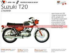 SUZUKI T20 250 ( T20 ) 1966 Fiche Moto 000238