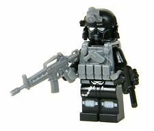 CIA Ghost Paramilitary Commando (SKU28) made with real LEGO(R) minifigure