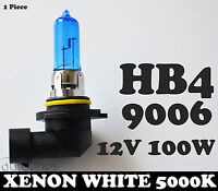 1x HB4 9006 12V 100W Xenon White 5000k Halogen Car Headlight Lamp Globes Bulbs
