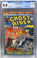 Marvel Spotlight 6 CGC 4.0 2nd appearance of Ghost Rider!