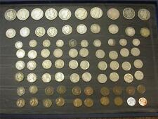 (80 COINS) INDIAN, LINCOLN,LIBERTY,JEFFERSON,BARBER (1c,5c,10c,25c,50c) ID# Y799