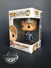 Gilderoy Lockhart Exclusive Blue Suit 59 Funko Pop Vinyl Harry Potter Exclusive