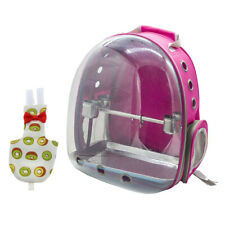 Cute Travel Bird Parrot Cage Carrier With Bird Cockatiels Nappy Diaper Pad