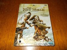 DVD STEELBOOK THE NEW WORLD - TERENCE MALICK DOPPIO DISCO