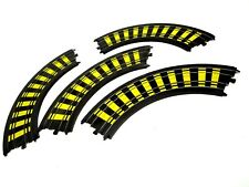 TYCO HO scale Slot Car Track Accessories - Four Turns Curves Turn Curve 4 pieces