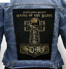 Black Label Society - Giant Indestructible Photo Quality Backpatch Back Patch