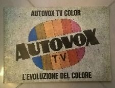 CATALOGO TV AUTOVOX TV COLOR 1977