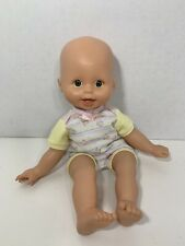 Fisher-Price Little Mommy baby so new doll yellow outfit butterflies green eyes