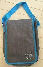 NEW INFUSE Messenger Bag Essential Oil Grey/Blue