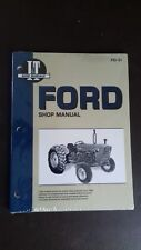 FORD TRACTOR 2000,3000,4000 SERIES  WORKSHOP MANUAL