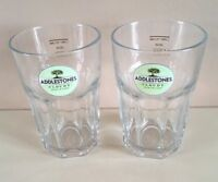 SIX Addlestones Cloudy Cider Very Heavy 1/2 Pint Glasses CE Marked.New & Unused.