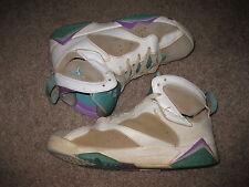 Air Jordan 442960-001 7 Retro (GS) Size 6Y Sneakers - PRE OWNED Blue Purple BEAT