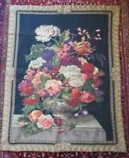 TAPESTRY WALL HANGING FLORAL BEAUTIFUL PENOY FLOWER DESIGN