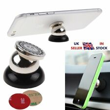 Rotating 360° Magnetic Car Dash Office Desk Holder Hold Mobile Phone Tab For GPS
