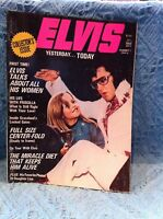 NOS 1975 ELVIS YESTERDAY . . . TODAY COLLECTOR'S ISSUE MAGAZINE