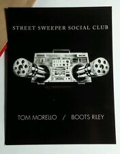 STREET SWEEPER SOCIAL CLUB MORELLO 4x5.5 MUSIC AD POSTCARD Mini SM PROMO POSTER
