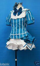 Project Diva 2nd Luka Megurine's Blue Dress Cosplay Costume Custom Made