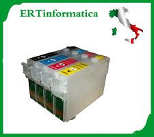 KIT 4 CARTUCCE RICARICABILI SX130 SX430 SX420 SX425 SX125 BX305F + CORRIERE