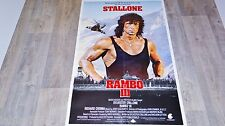stallone RAMBO 3  !  affiche cinema