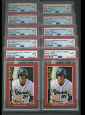 2010 Cedar Rapids Kernels Red #2 Mike Trout Angels RC Rookie All PSA 9