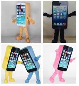 Parade Mobile Cell Phone Mascot Cosplay Suit  Advertising Costumes Fancy Dress