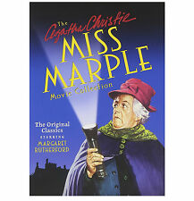 Agatha Christies Miss Marple Movie Collection DVD 4-Disc Box Gift Set | NEW
