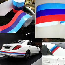 1M Flag Auto Waist Line Hood Sicker Decal Vinyl Car Stickers DIY Useful For BMW