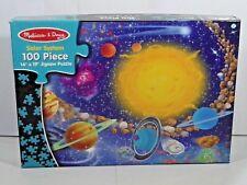 100 Pieces Melissa & Doug solar system Jigsaw Puzzle (Auction).