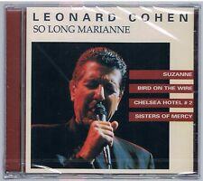 LEONARD COHEN SO LONG MARIANNE CD SIGILLATO!!!!