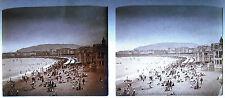 Photo photographie San Sebastian plage de la Concha playa Espana Espagne 1920