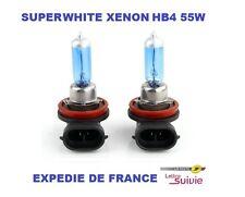 2 AMPOULES TOYOTA XENON SUPERWHITE HB4 9006 55W ANTIBROUILLARD