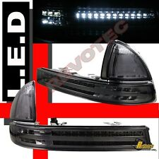 1998-2003 Dodge Durango 98-04 Dakota LED Bumper Signal Parking Lights Smoke