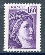 STAMP / TIMBRE FRANCE NEUF N° 2060 ** TYPE SABINE