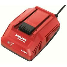 Hilti 18 36 Volt Battery Charger Lithium Ion 436 90 Compact Fast Charging Tools