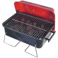 Table Top Gas BBQ Lava Rock Barbecue Camping Caravan Motorhome