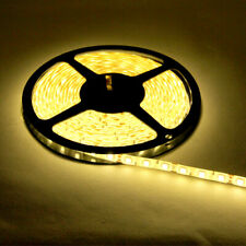 WARM WHITE LED FLEXIBLE 12V STRIP LIGHT 16.4FT 3528 SMD WIRE  ROPE WATERPROOF