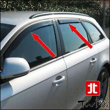 Set 4 Deflettori Antiturbo Oscurati Audi A4 Avant B8 2009-2015 S4 RS4 SW Wagon
