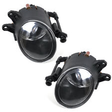 FOR 2001-2008 AUDI A4 B6 Quattro CLEAR FRONT BUMBER FOG LIGHT DRIVING LAMP PAIR