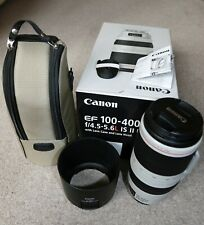 Canon EF 100-400mm F4.5-5.6 Lente USM L Is II