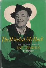 SIGNED! ACTOR PAT O'BRIEN AUTOBIOGRAPHY ~ HC/DJ 1ST ED. 1964