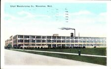 1928 VTG Postcard ~ Lloyd Mfg Baby Carriage Furniture Doll Carts Menominee MI