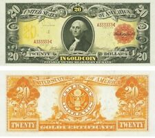 PREPRODUCTION $20 dollar 1905 US note currency