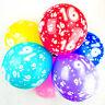 16th Ballons Anniversaire avec Imprimé chiffres fête latex qualité - Paquet de