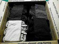 Trouser Socks REGULAR  LOT OF 120 LOOSE PAIRS Size 9-11 BLACK,BROWN,TAN,CHARCOAL