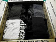 Trouser Socks REGULAR  LOT OF 120 LOOSE PAIRS Size 9-11 BLACK,BROWN,TAN,CHARCOAL
