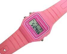 Orologio Da Polso Donna Digitale Moderno Fashion Casual Plastica Colore Rosa lac
